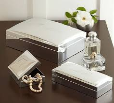 engravable silver plated jewelry boxes pottery barn