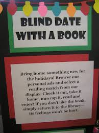 Seeking Blind Date Blind Date With A Book Idea Rather Than A Description Could