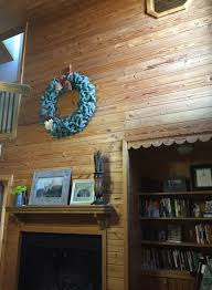 Pine Interior Walls Refinishing Knotty Pine Tongue And Groove Walls