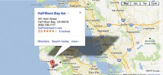 california map half moon bay hmb inn directions