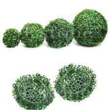 Lighted Topiary Trees Online Get Cheap Artificial Topiary Plants Aliexpress Com