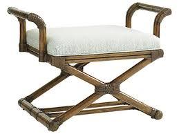 Lloyd Flanders Bay Breeze Lloyd Lexington Living Room Echo Beach Bench 1206 44 Stowers Furniture
