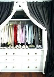 Curtains Closet Doors Curtain To Cover Closet Marvelous Curtains To Cover Closet Door