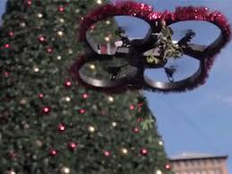 mistletoe drone and the romantic magic of christmas