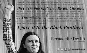 Bernadette Meme - saint patrick s day comrade bernadette devlin on irish americans