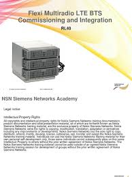 06 ra41126en05gla0 lte flexi multiradio bts commissioning and