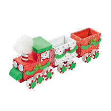 3d christmas train craft kit makes 6 orientaltrading com