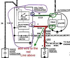 solved my 1985 ford f150 has a three wire alternator two fixya