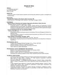 Email Resume Template Examples Of Resumes 93 Outstanding Mock Job Application