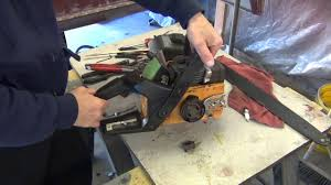 poulan chainsaw repair youtube