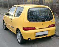 fiat seicento description of the model photo gallery