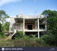 abandoned french colonial villa in kep sur mer kep province