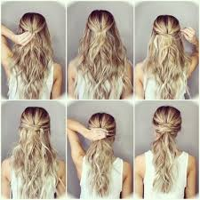 step by step hairstyles for long hair with bangs and curls 30 step by step hairstyles for long hair tutorials you will love