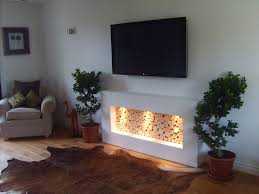 awesome decorative fireplace logs design decorating ideas