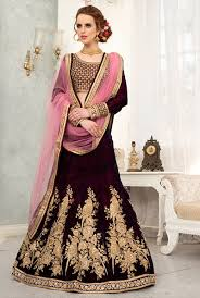 lengha choli for engagement velvet lehengas buying online uk maroon indian designer velvet