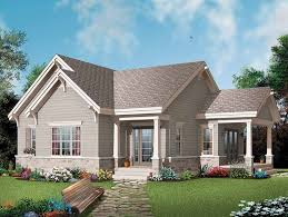 One Level Houses One 1 Bedroom House Plans At Eplans Com 1br Home Designs And