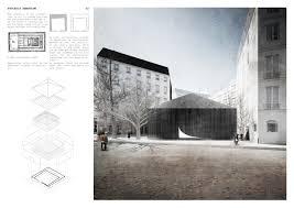 Pavilion Concept Charlie Hebdo Portable Pavilion Competition Winners