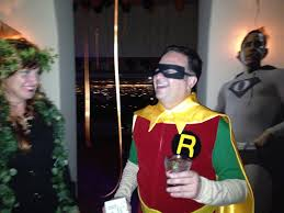 about last weekend halloween superheroes and villains
