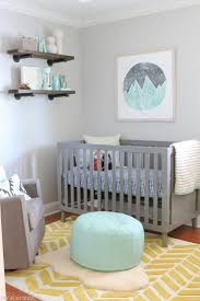Pink And Gray Nursery Decor Nursery Decors Furnitures Mint Green And Grey Nursery Decor