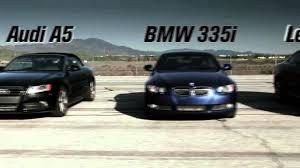lexus rc 350 vs audi s3 audi vs bwm vs infiniti vs lexus race youtube