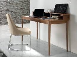 Glass Home Office Desk Modern Desks Modern Stylish Office Desk In Walnut Veneer By Modern