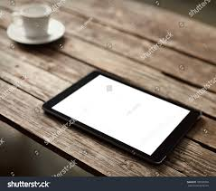 digital tablet computer isolated screen on stock photo 190789358