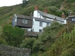 panoramio photo cliffside house woolfardisworthy uk