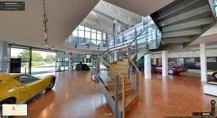 lamborghini museum go inside the lamborghini museum with google street view