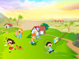 kids wallpaper wallpaper wiki kids wallpaper with a lage ground and kite pic