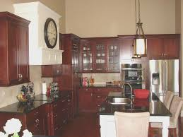 Kitchen Cabinet With Granite Top Kitchen Cool Cherry Kitchen Cabinets With Granite Countertops