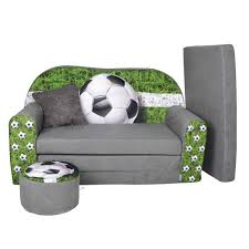 chauffeuse chambre enfant lit enfant fauteuils canapé sofa pouf et coussin football achat