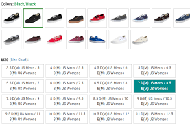 shoe size chart india vs uk vans shoes fit guide finding the perfect size dresscodeclothing