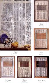 lace cafe curtains and valances offered by rue de france for the