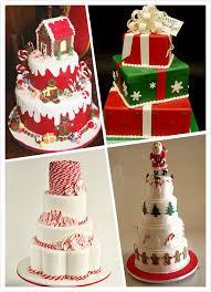 christmas wedding theme wedding cake can be truly magical