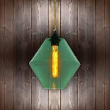 Green Glass Pendant Light Green Glass Pendant Light E2 Contract Lighting Bespoke