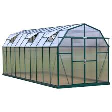 elite 8 ft w x 20 ft d x 8 ft h heavy duty aluminum greenhouse