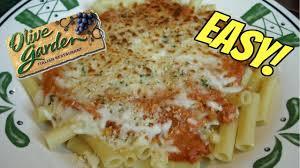 Olive Garden Five Cheese Marinara - olive garden copycat 5 cheese ziti al forno recipe youtube