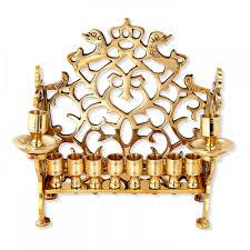 hanukkah menorah hanukkah menorah replica big lions 18th century poland judaica