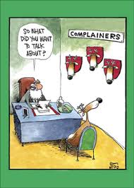 complainers funny humorous christmas card by nobleworks