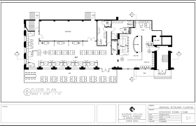 restaurant kitchen floor plans free example image restaurant