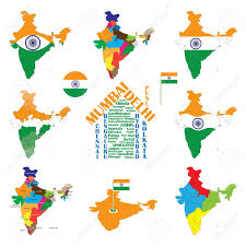 Gujarat Map Blank by 603 India Vector Map Stock Vector Illustration And Royalty Free