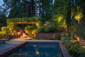 pool landscape lighting ideas contemporary pool chicago landscape
