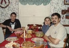 awkward family photos captures the magic of thanksgiving with