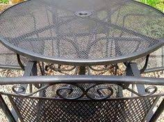 How To Restore Metal Outdoor Furniture by Reader Re Do A Colorful Patio Furniture Makeover Posts