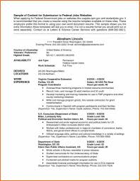 usa resume federal format resume federal resume exle government format