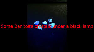 benitoite for sale benitoite etching youtube