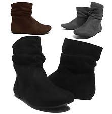 womens flat ankle boots size 9 ankle flat boots size 9 ebay