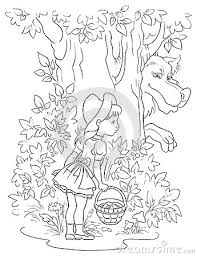 red riding hood coloring pages free print red riding