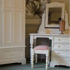 painted shabby chic dressing table desk distressed home furniture