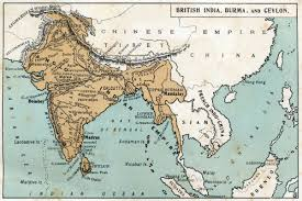 British India Map by Enjoy Reading India In Different Dynasty Old Maps